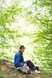 Shepherd from Romania Royalty Free Stock Photo