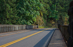Shepherd's Dell Bridge. On the Historic Colombia Gorge Highway Stock Photo