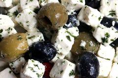 Shepherd's salad texture Stock Image