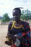 Shepherd Turkana (Kenya). Shepherd Turkana Royalty Free Stock Image