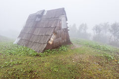 Shepherds hut. Royalty Free Stock Image