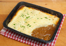 Shepherds Pie Convenience Meal Royalty Free Stock Images