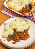 Shepherds Pie Meal Royalty Free Stock Photography