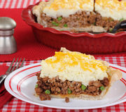 Shepherds Pie Slice Royalty Free Stock Photos