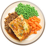 Shepherds Pie with Vegetables Stock Photography