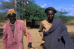 Shepherds Turkana (Kenya) Stock Image