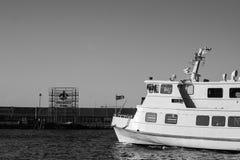 Shepp down at the dock Royalty Free Stock Photos
