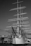 Shepp Viking vers le bas au dock Photo stock