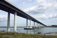 Sheppey Bridge Royalty Free Stock Photo