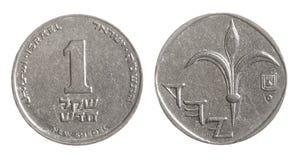Sheqel de l'Israël Photographie stock libre de droits