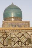 Sher Dor (león) Medressa, el Registan, Samarkand Fotos de archivo libres de regalías