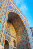 Sher Dor madrasah, Registan, Samarkand, Uzbekistan Royalty Free Stock Images
