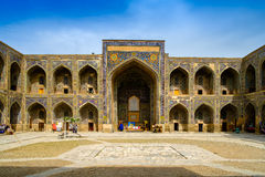 Sher Dor madrasah on Registan square, Samarkand Stock Photos