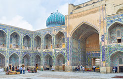 In the Sher-Dor Madrasah Royalty Free Stock Photo