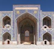 - Sher Dor Medressa, Registan, Samarkand, Uzbekistan - zdjęcie stock