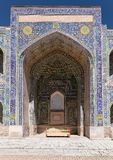 Sher Dor Medressa - Registan - Samarkand - Uzbekistan Royalty Free Stock Image