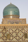 sher registan de Samarkand de medressa de lion de dor Photos libres de droits