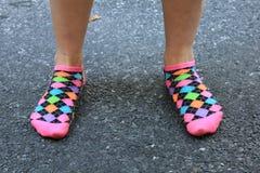 Sheralyn's socks Stock Photos