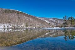 Sherando Rekreacyjnego terenu Jeziorny Sceniczny krajobraz zdjęcie stock