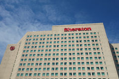 Sheraton Hotel Arkivbilder