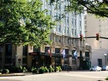 Sheraton Hotel in Columbia, South Carolina. Located on Main Street royalty free stock photos