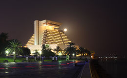 The Sheraton Hotel in Doha Stock Photos
