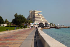 Sheraton hotel in Doha, Qatar Stock Photos