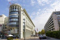 Sheraton Hotel en Varsovia Foto de archivo