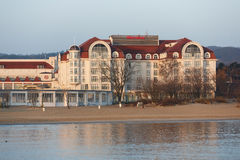 Sheraton hotel in Sopot Royalty Free Stock Images