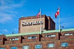 Sheraton-Hotel in Stockholm Stockfotos