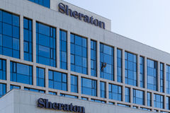 Sheraton Hotel in Ufa, Bashkortostan, Russian Federation. The Sheraton hotel in Ufa Bashkortostan will be home to many of the delegates of the 7th BRICS meeting Royalty Free Stock Image