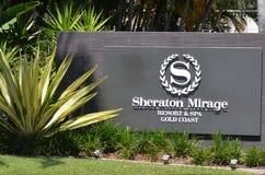 Sheraton Mirażowy kurort & zdroju złota wybrzeże Queensland Australia Fotografia Royalty Free