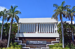Sheraton Mirage Resort & Spa Gold Coast Queensland Australien Royaltyfri Fotografi