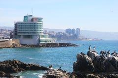 Sheraton Miramar Hotel e Convention Center em Vina Del Mar, o Chile Imagens de Stock Royalty Free