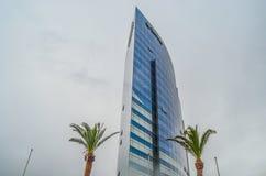 Sheraton Oran d'hôtel et paume image stock