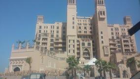 Sheraton, Sharjah miejscowość nadmorska - Zdjęcia Stock