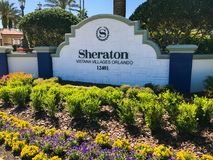 Sheraton Vistana Villages, Orlando, Florida stockbild