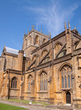 Sherborne Abbey. Founded by St. Aldhelm in AD 705 Stock Images