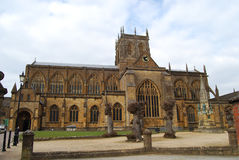Sherborne Abbey Dorset. Abbey church at Sherborne Dorset England Stock Images