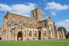 Sherborne Abbey. In Dorset,England Royalty Free Stock Photo