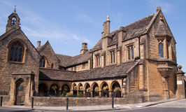 Sherborne Almshouses Royalty Free Stock Photography
