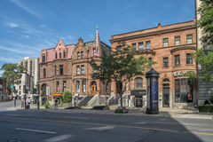 Sherbrooke street west Royalty Free Stock Photography