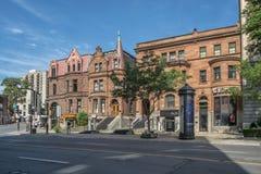 Sherbrooke ulica zachodnia fotografia royalty free