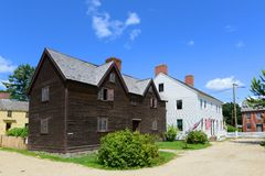 Sherburne-Haus, Portsmouth, New Hampshire Stockbilder