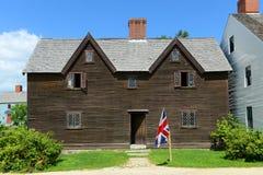 Sherburne-Haus, Portsmouth, New Hampshire Stockfotografie