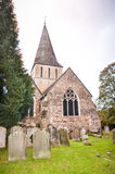 Shere bykyrka Surrey England Royaltyfri Fotografi