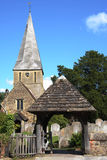 Shere Village Church Royalty Free Stock Images