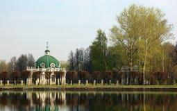 Sheremetev家庭的庄园在Kuskovo 免版税库存照片