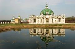 Sheremetev家庭的庄园在Kuskovo 库存照片