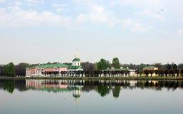 Sheremetev家庭的庄园在Kuskovo 图库摄影
